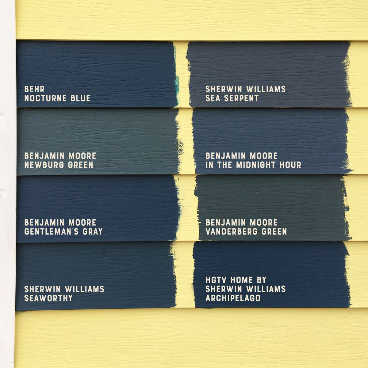 Picking the perfect dark teal house paint color