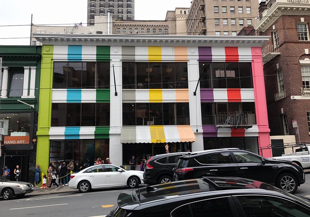 color factory exterior