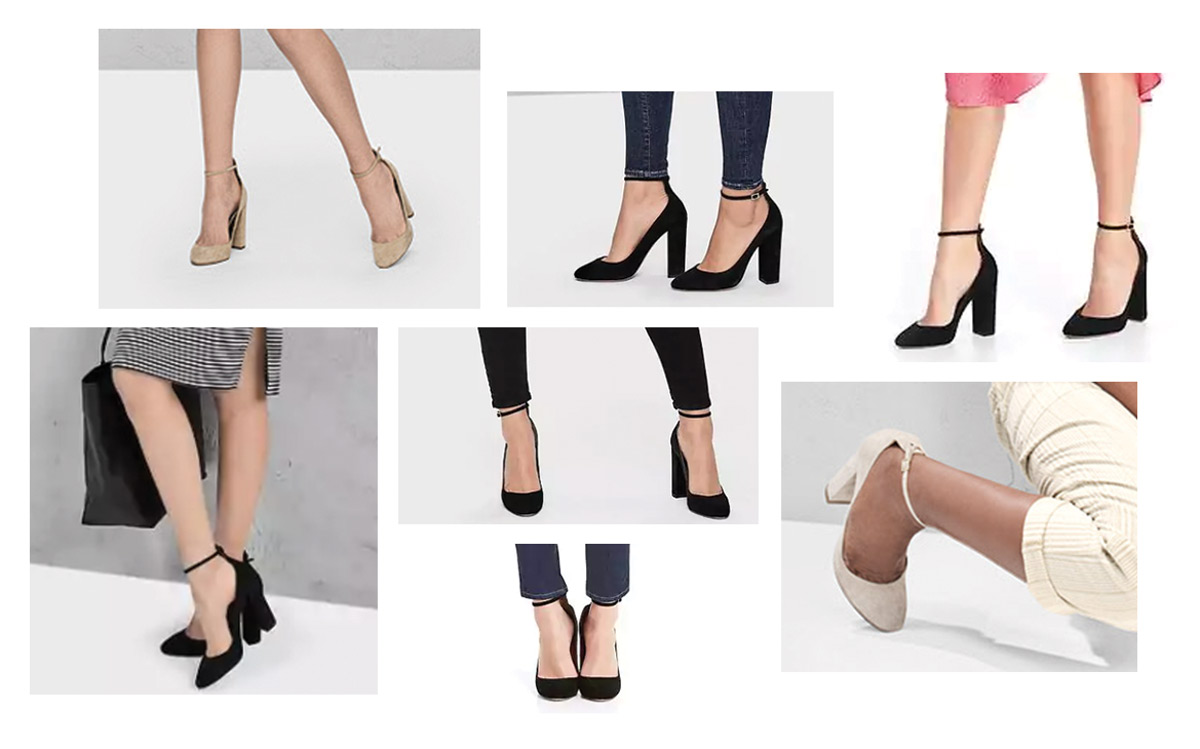 Gap Ankle Strap Block Heel Pumps in Emails