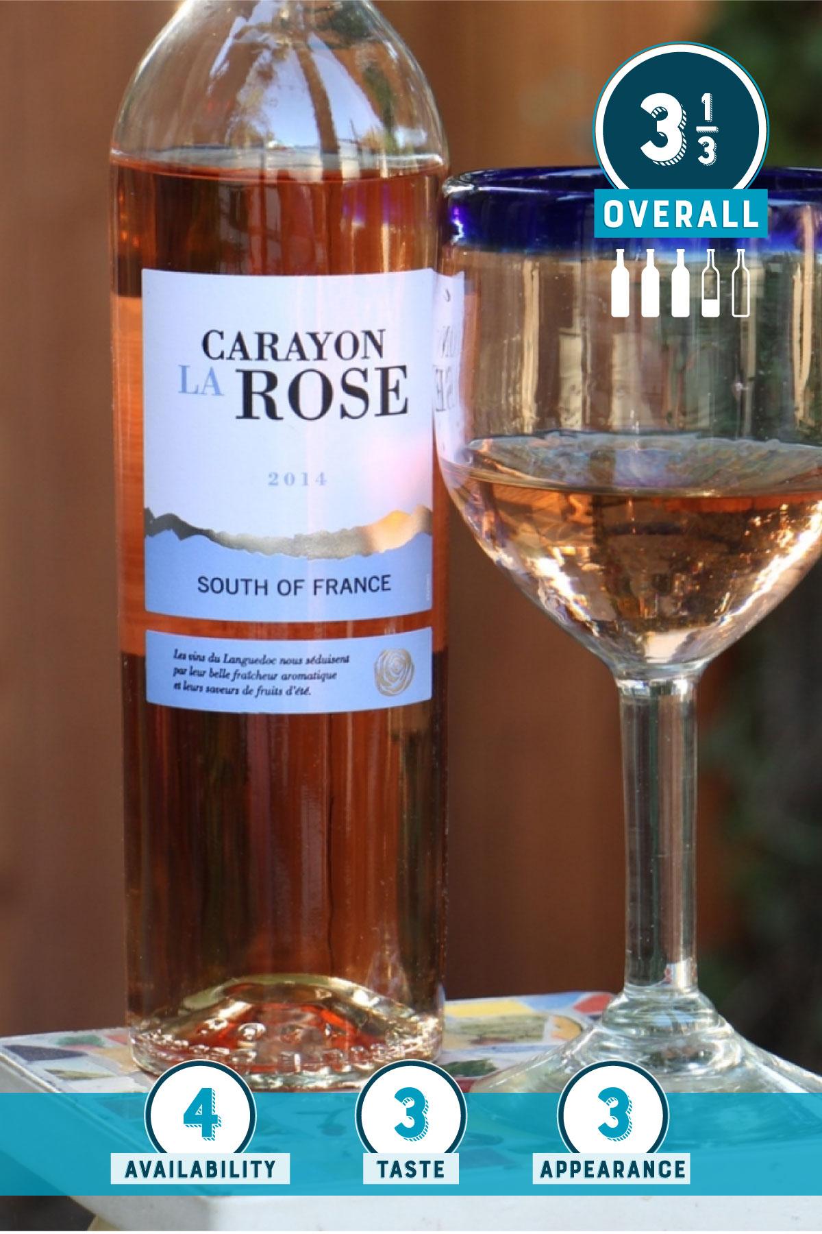 Trader Joe's Rosé Exposé: Carayon La Rosé